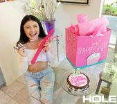 Adria Rae - Birthday Anal Toys - Holed 4
