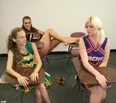Hailey, Barbi - Cheerleader Handjob Competition - ClubTug 2