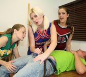 Hailey, Barbi - Cheerleader Handjob Competition - ClubTug 5