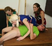 Hailey, Barbi - Cheerleader Handjob Competition - ClubTug 7