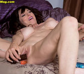 Karen Kougar - Exhibitionist MILF DP - Naughty Mag 9