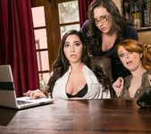 Lady Boss: Caught at the Office - Girlsway 5