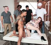 DP Gangbang, Bukkake For Cheating Anna - Evil Angel 3