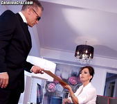 Catalina Cruz as The First Lady fucking secret service man 4