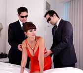 Catalina Cruz as The First Lady #2 fucking 2 studs same time 3