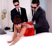 Catalina Cruz as The First Lady #2 fucking 2 studs same time 4