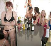Bree Daniels, Casey Calvert - Caught Behind the Bar 3