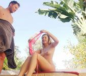 Horny Stepsis Gives Stepbro A Hot Tub Hand Job - SpyFam 29