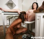 Sovereign Syre joins Rilynn Rae for some lesbian fun 12