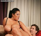 Jasmine Black takes Steve Holmes 10 inch dick up her ass 14