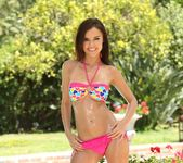 Dillion Harper Cools Off By The Poolside 2