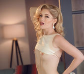 Charlotte Stokely Unzips Her Skirt - Cherry Pimps 6