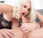 An anal creampie for Anna Moore - 40 Something Mag 9