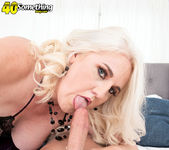 An anal creampie for Anna Moore - 40 Something Mag 11