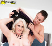 An anal creampie for Anna Moore - 40 Something Mag 15