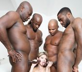 Gina Gerson in hardcore interracial gangbang - Private 6