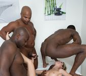 Gina Gerson in hardcore interracial gangbang - Private 9