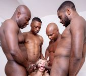 Nathaly Cherie loves interracial gangbangs - Private 7