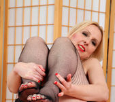 Tracey Hein - Fishnet Stockings - Anilos 16