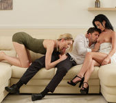 Anny Aurora, Samuel & Niki - Surprise Sex For Three - X-Art 9