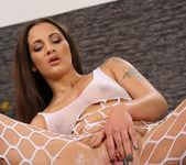 Nicolette Noir tastes her golden piss and toys 4