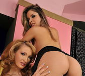 Lesbian Sex with Peaches and Bailee - Lezbo Honeys 2