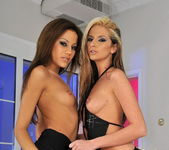 Bambi & Anita Pearl Eating Each Other Out - Lezbo Honeys 3