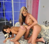 Bambi & Anita Pearl Eating Each Other Out - Lezbo Honeys 12