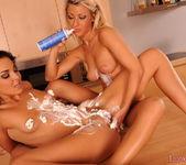 Pussy Licking with Tea & Billy Raise - Lezbo Honeys 13