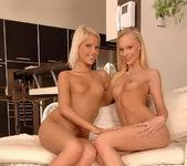 Lesbian Sex with Gitta Blond & Pink Pussy - Lezbo Honeys 20