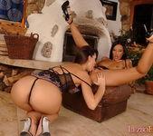 Pussy Licking with Eve Angel & Lorna - Lezbo Honeys 6