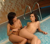 Eve Angel & Ginger B. Licking Pussy - Lezbo Honeys 5