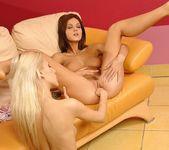 Horny Lesbians Ivette Blanche & Boroka - Lezbo Honeys 19