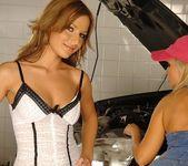 Lesbian Sex with Szilvia Lauren & Florina Rose 2