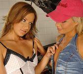 Lesbian Sex with Szilvia Lauren & Florina Rose 5