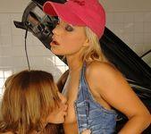 Lesbian Sex with Szilvia Lauren & Florina Rose 6
