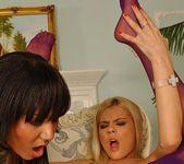 Lesbian Action with Jasmine Rouge & Evey - Lezbo Honeys 19