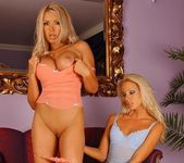 Sandy & Bridgett Eating Each Other Out - Lezbo Honeys 8