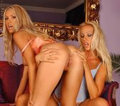 Sandy & Bridgett Eating Each Other Out - Lezbo Honeys 11