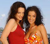 Olivia York & Estelle Toying Lesbians - Lezbo Honeys 2
