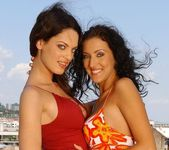 Olivia York & Estelle Toying Lesbians - Lezbo Honeys 3