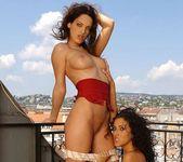 Olivia York & Estelle Toying Lesbians - Lezbo Honeys 8