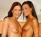 Lesbian Action with Zoe & Evelyn Lory - Lezbo Honeys 10