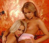 Tiffany Diamond & Candy Toying Lesbians - Lezbo Honeys 6
