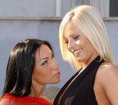Horny Lesbians Dana & Mya Diamond - Lezbo Honeys 3