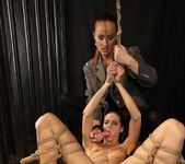 Katy Parker & Lillandra Lesbian Punishment - Mighty Mistress 15