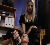 Barbie Pink & Nikky Thorne Lesbian Punishment 26