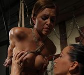 Szilvia Lauren & Mandy Bright Lesbian BDSM - Mighty Mistress 11