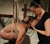 Szilvia Lauren & Mandy Bright Lesbian BDSM - Mighty Mistress 20