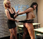 Katy Parker & Leilla Lesbian Bondage - Mighty Mistress 8